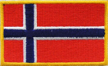 Patch, Norwegian Flag